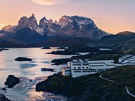 Patagonia our hotel in torres del paine Patagonia